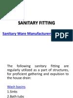 Sanitary Manufacturers & Elegant Bathroom Fitting