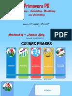 Primavera P6 Hands on Training Course Content
