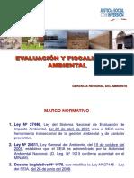 Evaluación y Fiscalización Ambiental