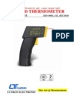 Infrared Thermometer Tm-958
