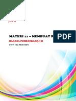 Pembuatan Report dengan menggunakan iReport pada Java Netbeans