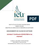 Certificacion ISO/IEC 27000 en las empresas