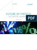 Future of Fintech in Capital Markets En