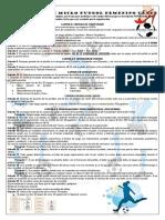 Reglamento 2 Campeonato Demicro Futbol Femenino