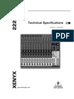 XENYX 2222FX