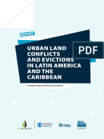 2017 Report Urban Land Conflicts Suelo Urbano Spread