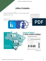 Barômetro Político Estadão-Ipsos Novembro 2017