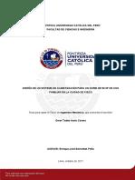 Sistema Climatización Domo Ciudad Pisco