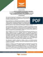 Convocatoria de Movimiento Ciudadana para el proceso electoral Veracruz 2017- 2018