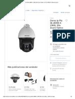 Domo Ip Ptz 4k (4096 X 2160), 30x Zoom Óptico - $ 112,185