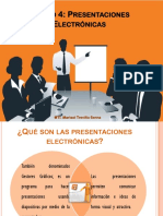 Unidad 4. Presentaciones Electrónicas
