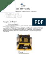 GPS RTK Trimble Avec Photo-V5
