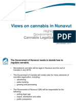 Cannabis Legalization Survey Results
