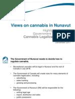 Cannabis Legalization Survey Results