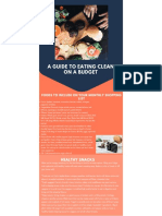 a guide to eating clean on a budget client hand out updated