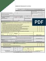 Formulario Permiso de Trabajo en Altura Zxz