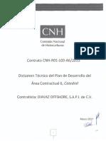 AC06 20170331 SN Dictamen Técnico Del Plan de Desarrollo 06 Catedral Firmado