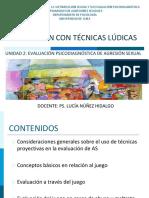 Evaluación Con Técnicas Lúdicas (Alumnos) 2016