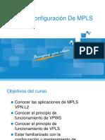 Principio y Configuración de MPLS VPN L2
