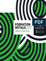 Gobelins Formations Cinema Animation 2017