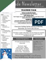 Newsletter Qtr 2 12-14-17
