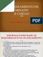 Planeamiento II Unidad 2017-II