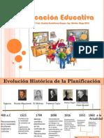 Planificación Educativa. 23 de Noviembre 2013