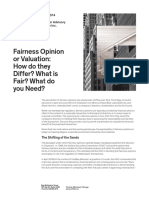 Fairness Opinion or a Valuation Opinion FINAL E 2014-08-27