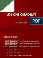 Uji Chi Quadrat