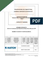Proyecto de Ventilación de Factibilidad Hatch-Subt-Chuqui