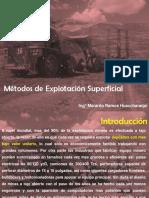 Métodos de Explotación Superficial-Sesion 1