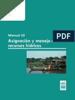 Asignacion y manejo de los recursos hidricos.pdf