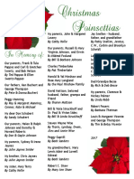 2017 Poinsettia Dedications Booklet