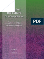 Changing the Culture of Acceptance
