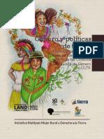 Genero y Politicas de Tierras. Experiencias Web