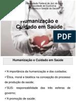 Aula 2 Humanização e Cuidado Em Saúde