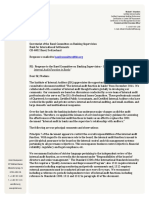 IIA Response to Basel Internal Audit Function in Banks - Comment Letter