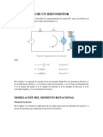 Cálculos de Servomotor