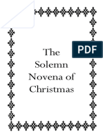 Solemn Novena of Christmas