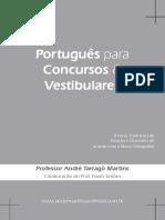 Degustação Tarragô - Apostila de Português Para Concursos e Vestibulares