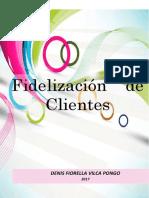 Modelo a Tomar en Cuenta - Fidelización de Clientes