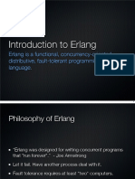 Erlang introduction