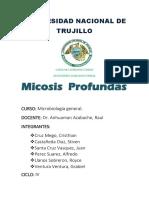 Micosis-profundas INFORME