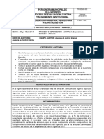Informe Final de Auditoria Interna de Gestion Almacen Ycontabilidad