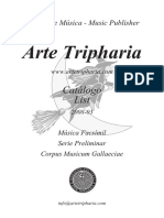 Catalogo Arte Tripharia -List