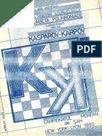 E. Polihroniade – Meciul Kasparov – Karpov, New York & Lyon