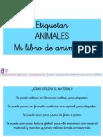 Etiquetar Animales