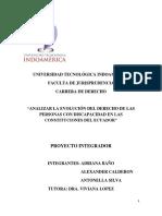 Proyecto Integrador Discapacidad en La Constitucion