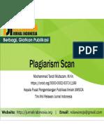 7. Plagiarism Scan - M Tanzil Multazam, MKn