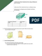 Development of Surface